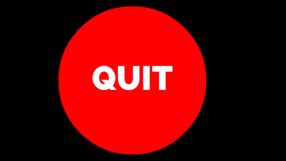 Quit While You Are Ahead: Weight Loss