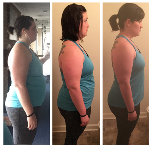 In 8 weeks Beka lost 30 lbs