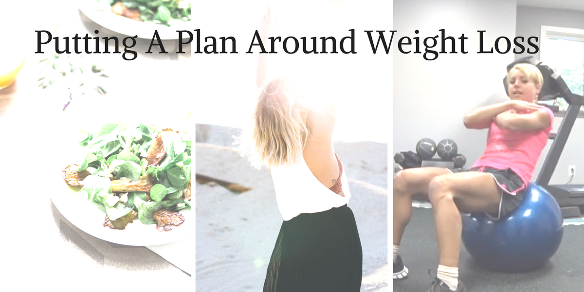 Putting A Plan Around Weight Loss